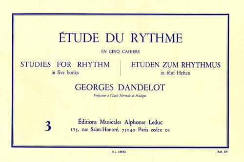 Etude du Rythme, Vol.3.Rythmes simultanées