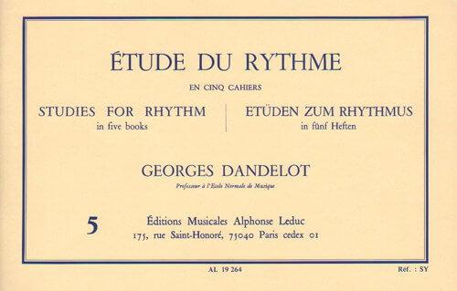 Etude du Rythme, Vol.5.Mesures composées