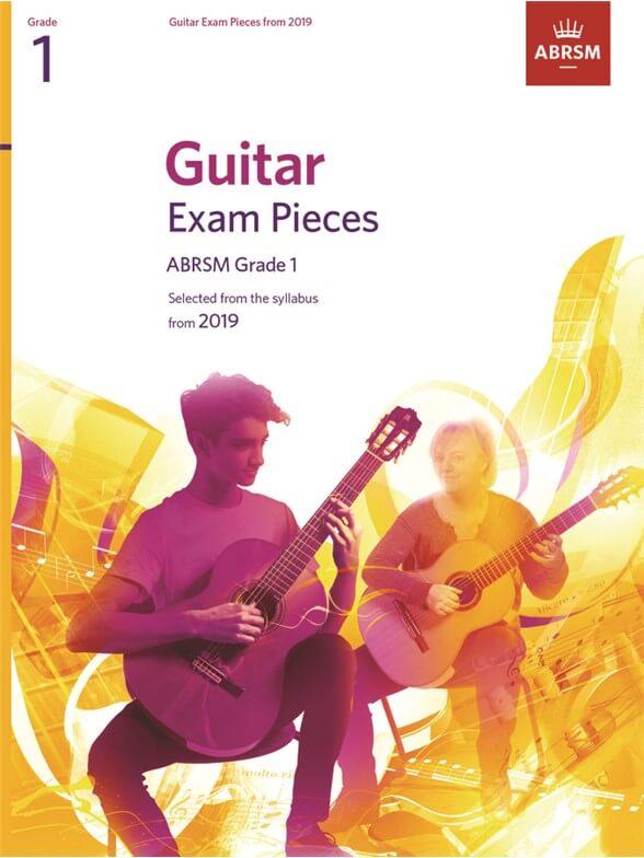 Guitar Exam Pieces 2016-2019, ABRSM Grade 1