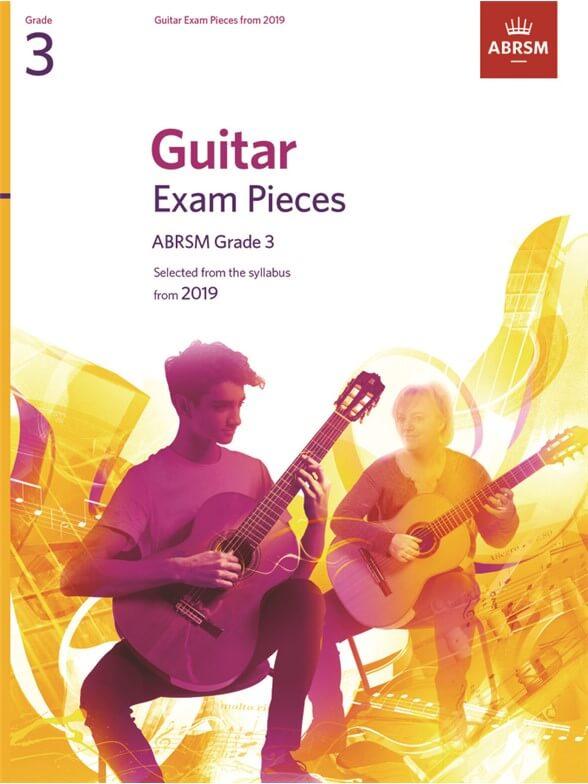 Guitar Exam Pieces 2016-2019, ABRSM Grade 3
