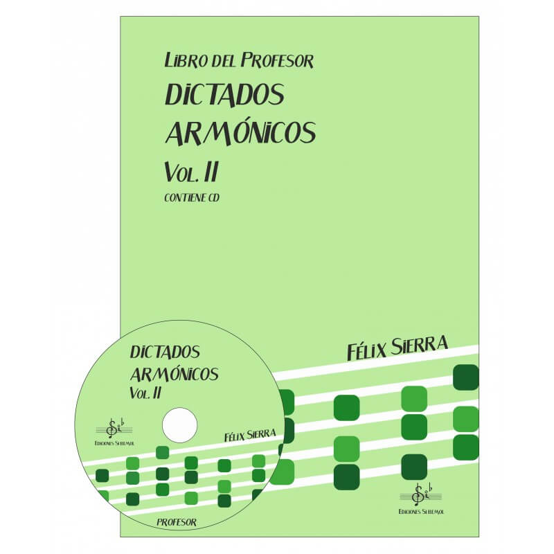 Dictados Armonicos Vol.2 +Cd Profesor