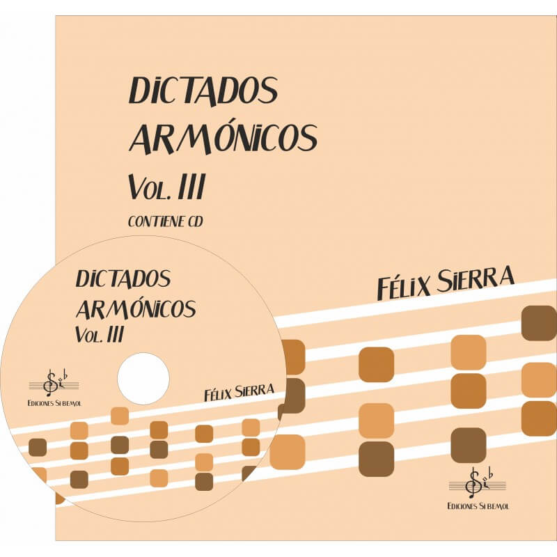 Dictados Armonicos Vol.3 +Cd Alumno