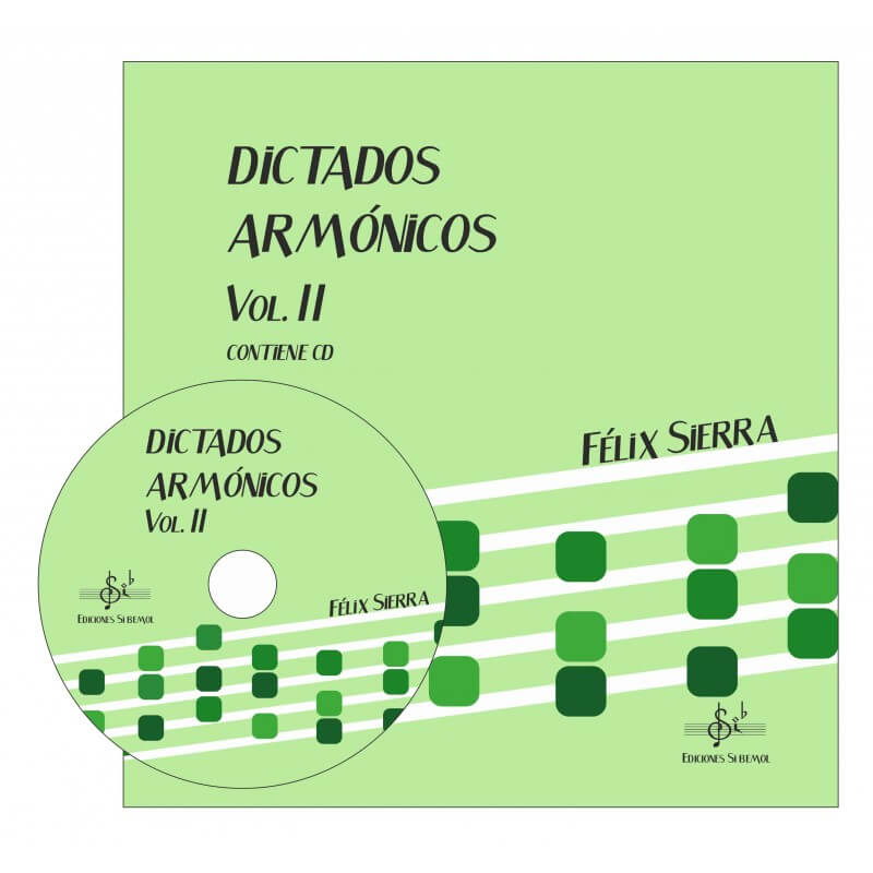 Dictados Armonicos Vol.2 +Cd Alumno