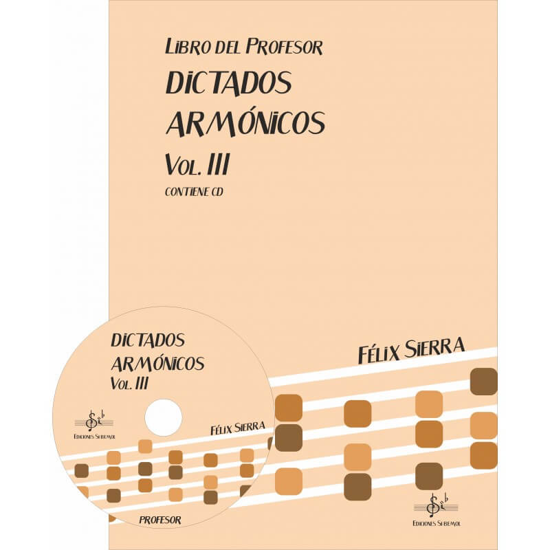 Dictados Armonicos Vol.3 +Cd Profesor