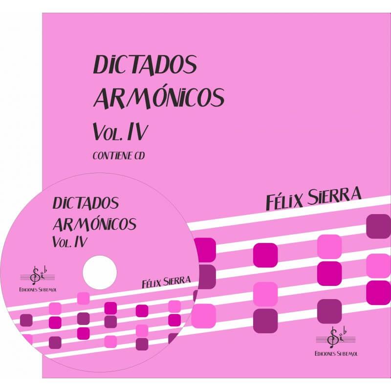 Dictados Armonicos Vol.4 +Cd Alumno