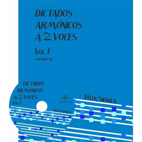 Dictados Armonicos Vol.1 A Dos Voces +Cd Alumno
