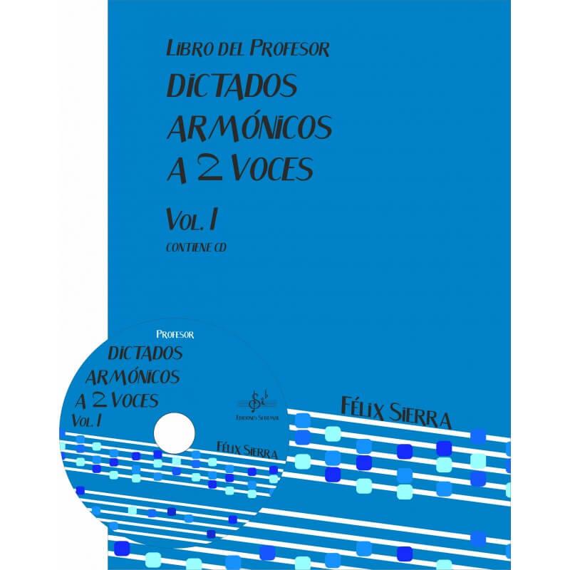 Dictados Armonicos Vol.1 A Dos Voces +Cd Profesor