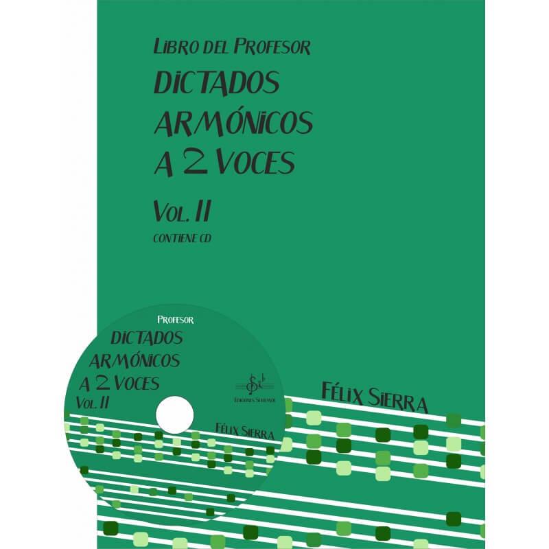 Dictados Armonicos Vol.2 A Dos Voces + Audio en App Profesor