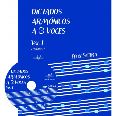 Dictados Armonicos 3 Voces Vol.1 +Cd Alumno