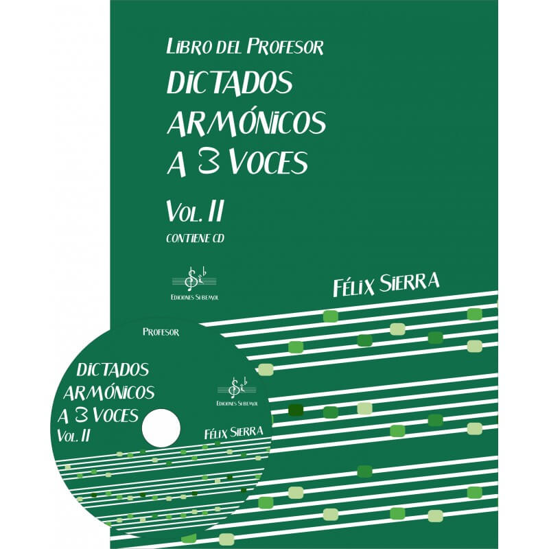 Dictados Armonicos 3 Voces Vol.1 +Cd Profesor