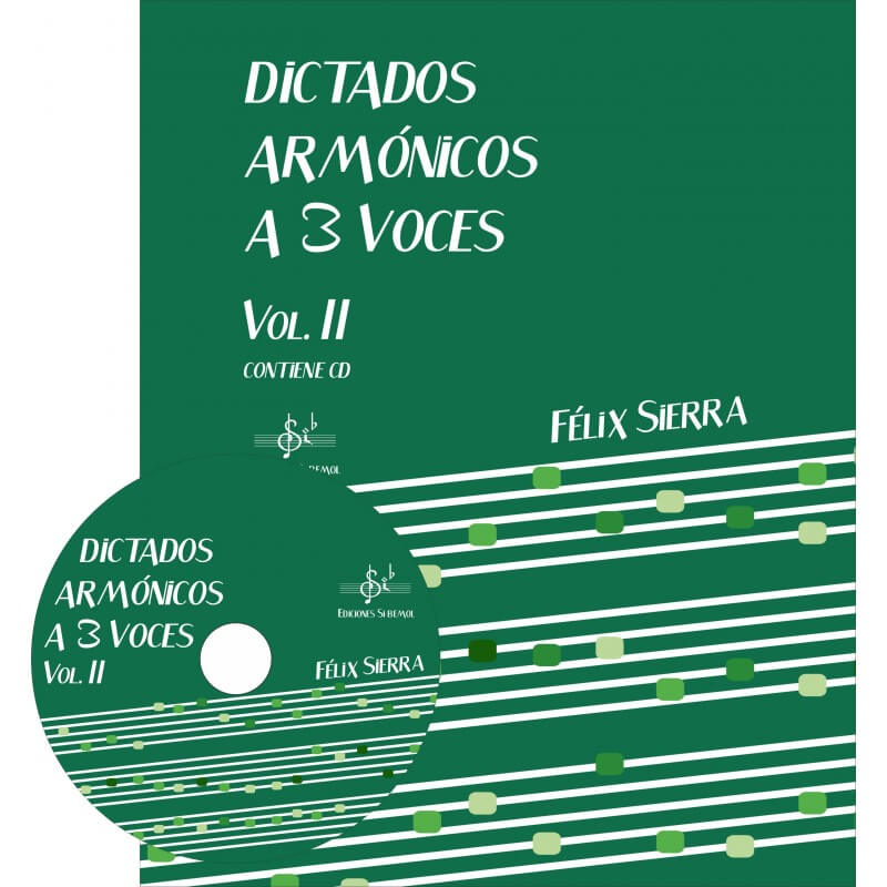 Dictados Armonicos 3 Voces Vol.2 +Cd Alumno