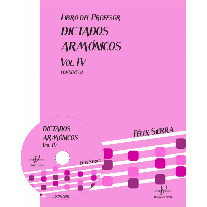 Dictados Armonicos Vol.4 +Cd Profesor
