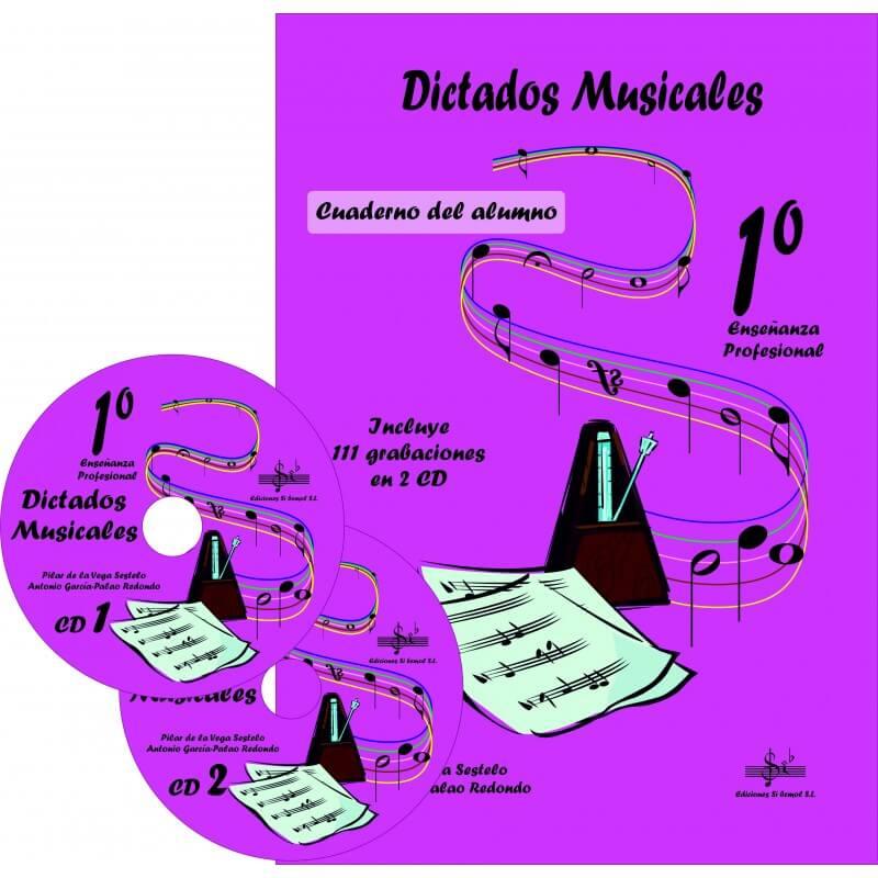 Dictados Musicales 1º Enseñanzas profesionales +CD
