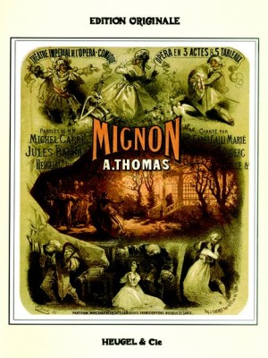 Mignon. Voz y piano. Ambroise Thomas