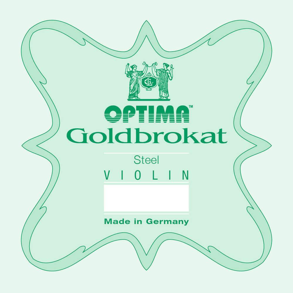 Cuerda 1ª Mi Violín Optima Goldbrokat