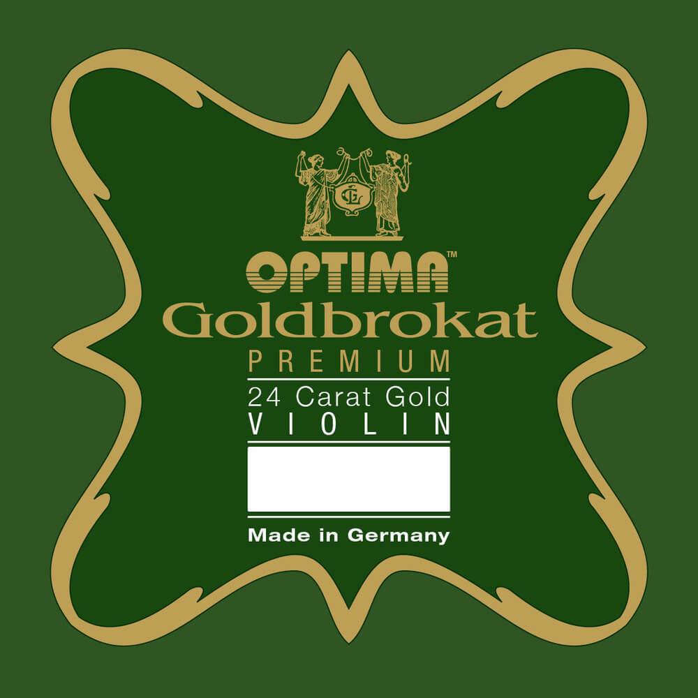 Cuerda 1ª Mi Violín Optima Goldbrokat Premium 24K Gold 1061