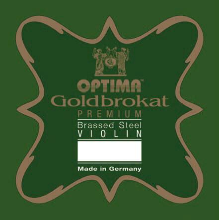 Cuerda 1ª Mi Violín Optima Goldbrokat Premium Brassed 1071