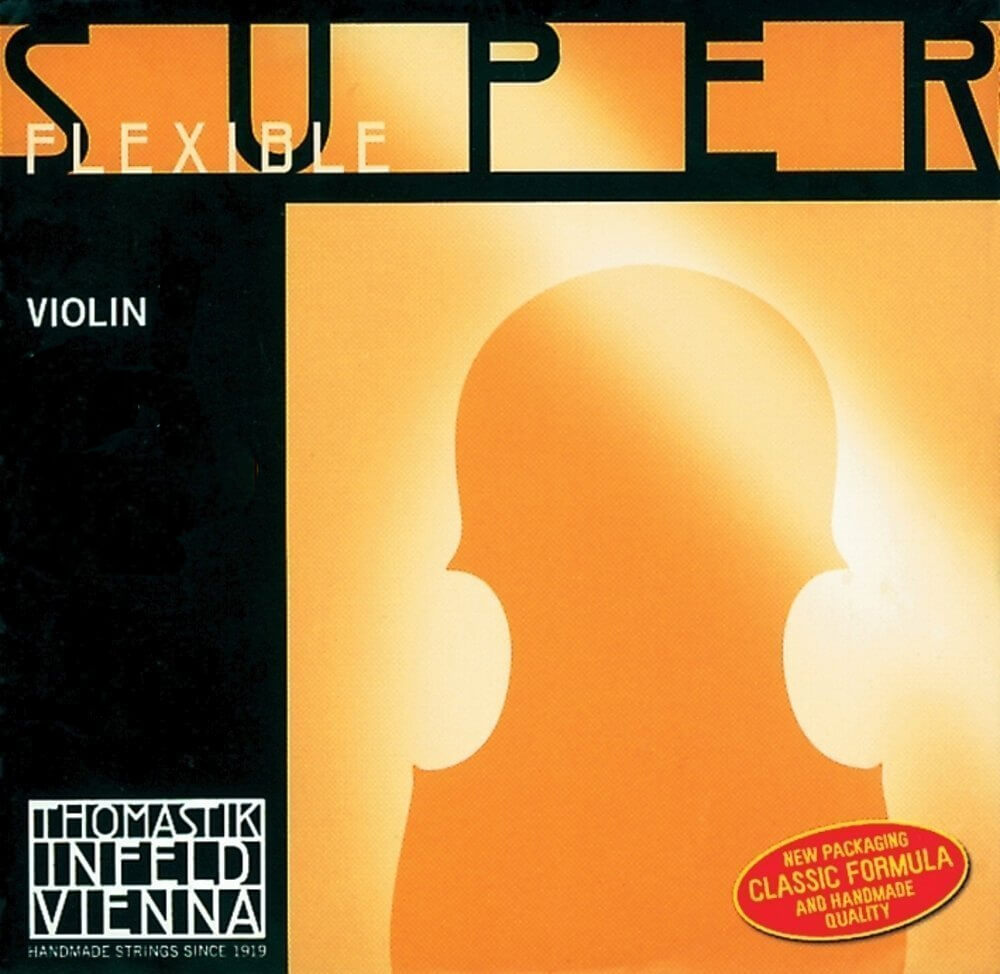 Juego Cuerdas Violín Thomastik Superflexible