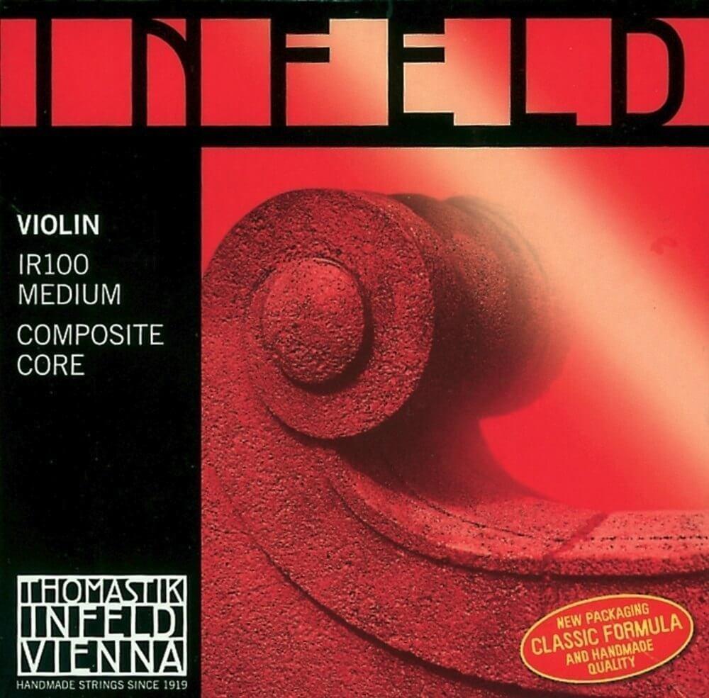 Juego Cuerdas Violín Thomastik Infeld Rojo IR100