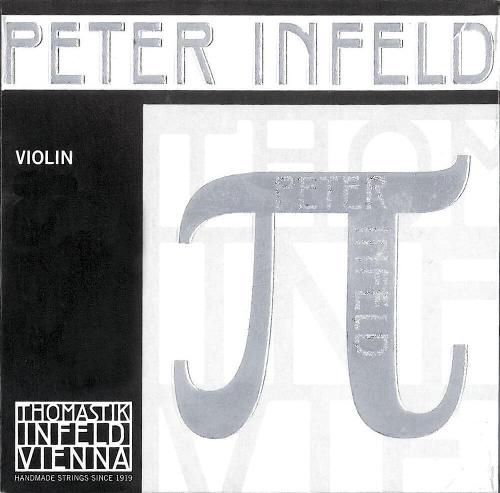 Juego Cuerdas Violín Peter Infeld PI100. Mi Platino