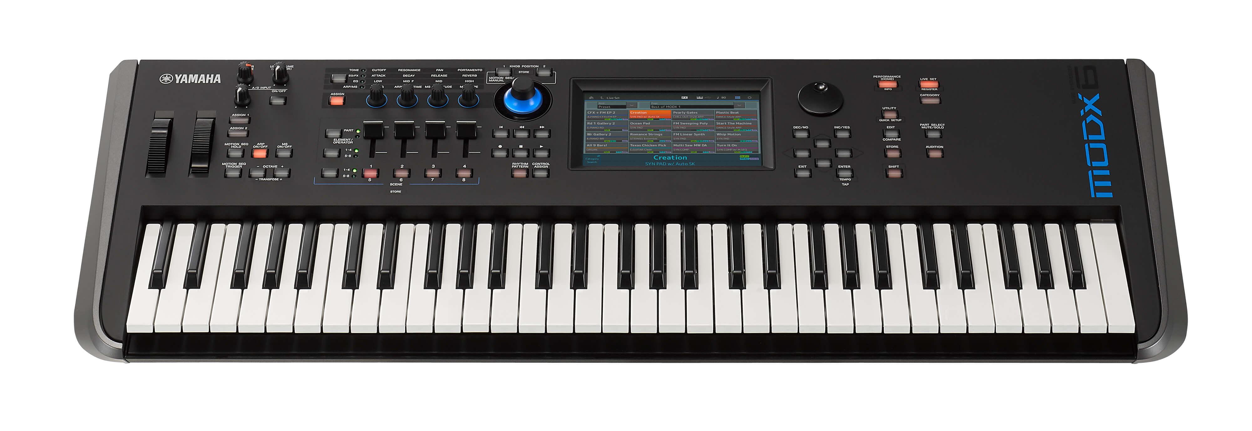 Sintetizador Yamaha MODX6 61 teclas