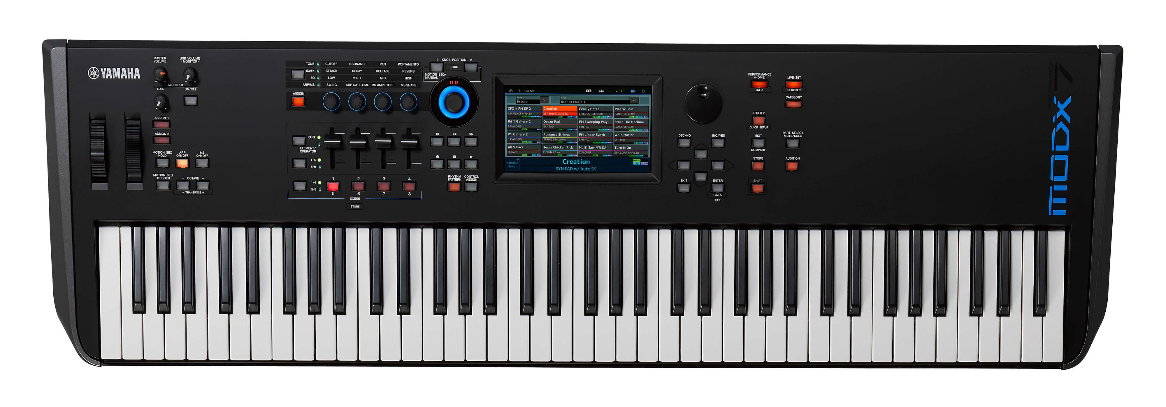 Sintetizador Yamaha MODX7 76 Teclas