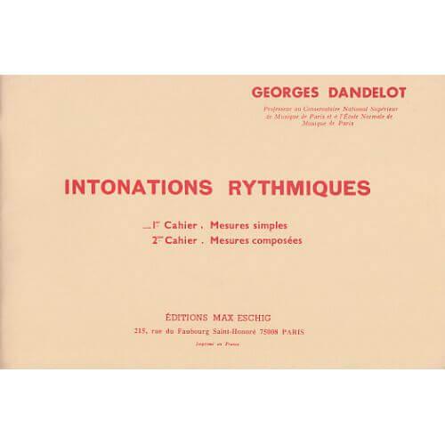 Intonations Rythmiques Vol 2 Enseignement .