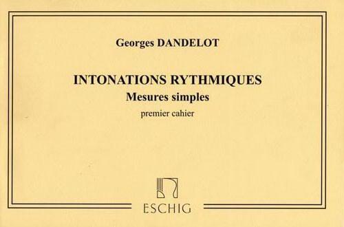 Intonations Rythmiques Vol.1