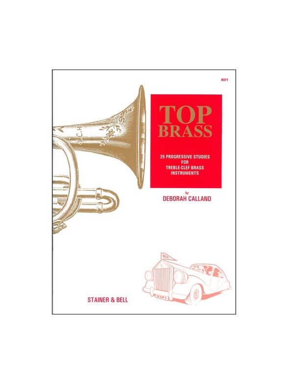 25 Progressive Studies for Treble-Clef Brass Instruments