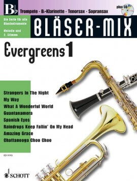 Bläser-Mix. Evergreens