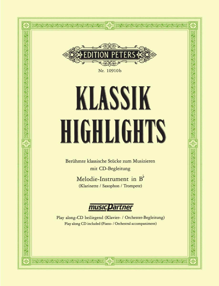Klassik-Highlights.Berühmte Klassische Stücke Zum Musizieren