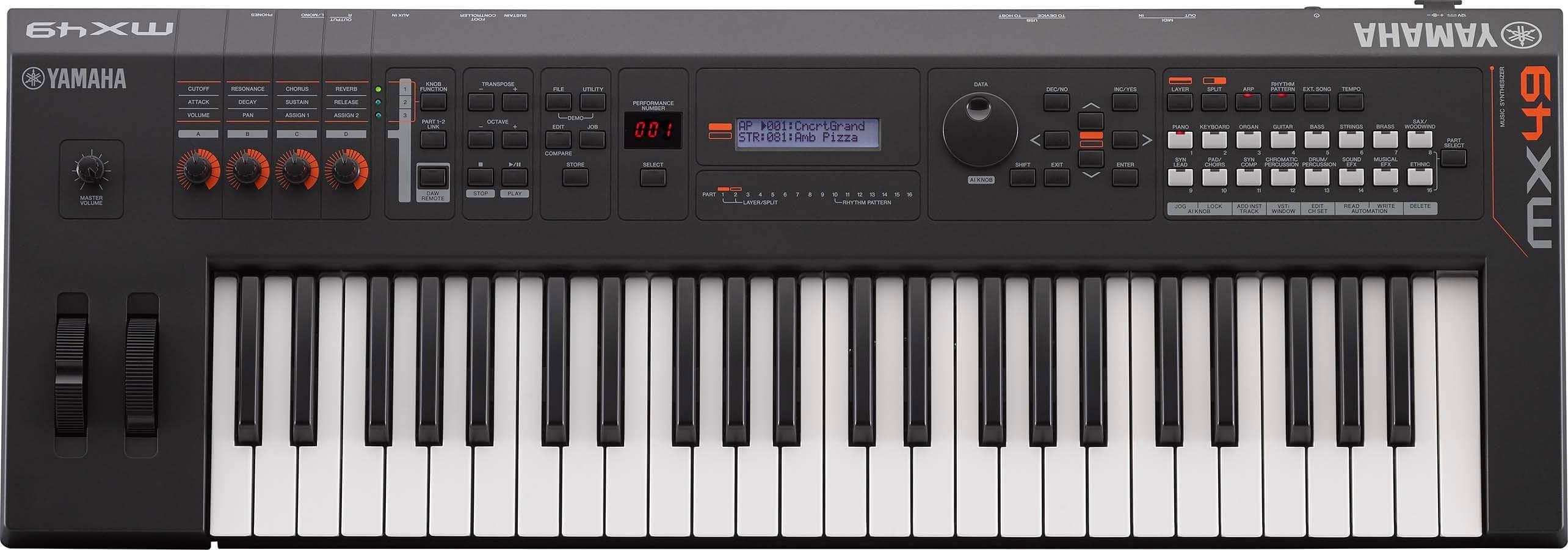 Sintetizador Yamaha MX49II