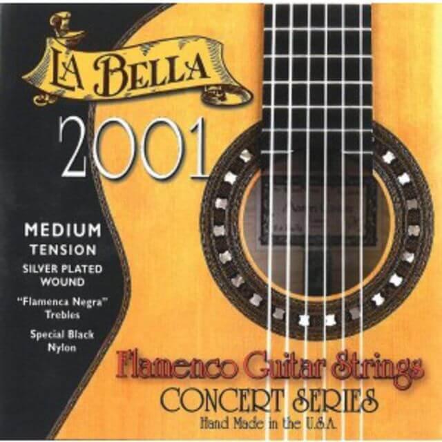 Juego de cuerdas La Bella 2001 Medium Flamenca