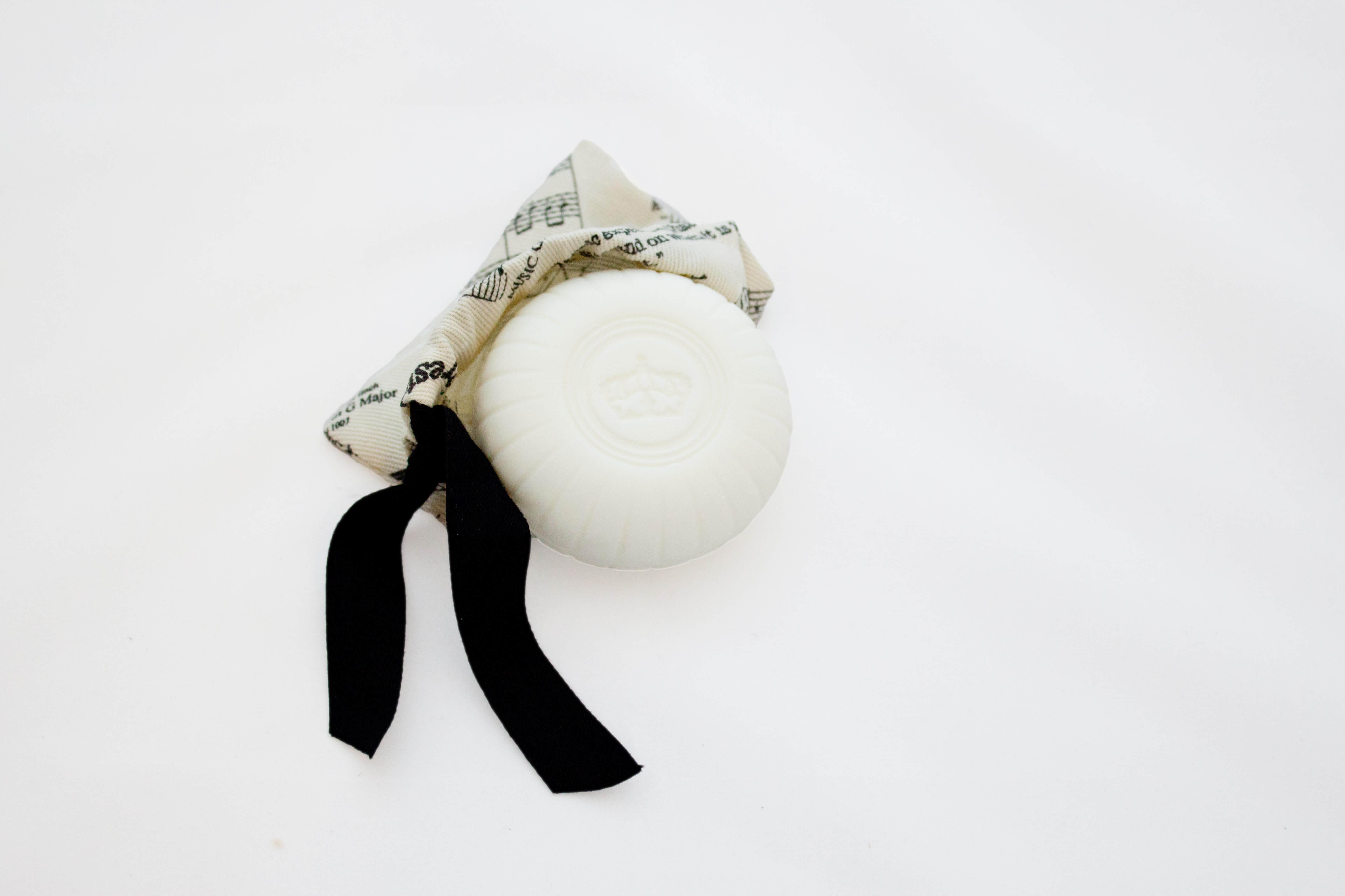 Jabón en una bolsa