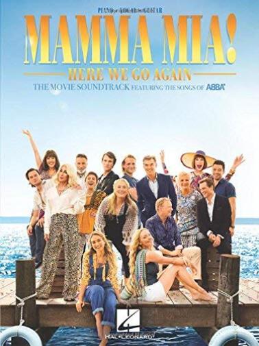 Mamma Mia! Here we go again Piano, Vocal and Guitar