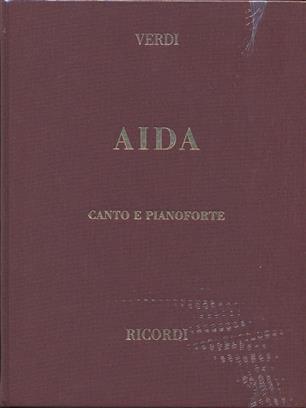 Aida. vocal score Tapa dura Verdi