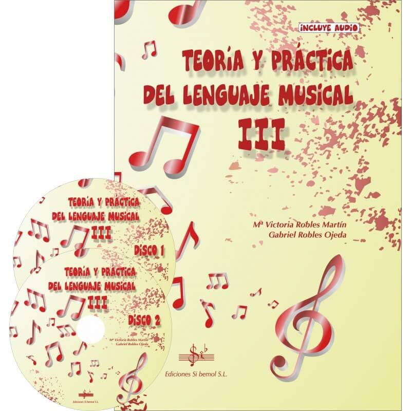 Teoria y práctica del lenguaje musical Vol. 3 audio en APP