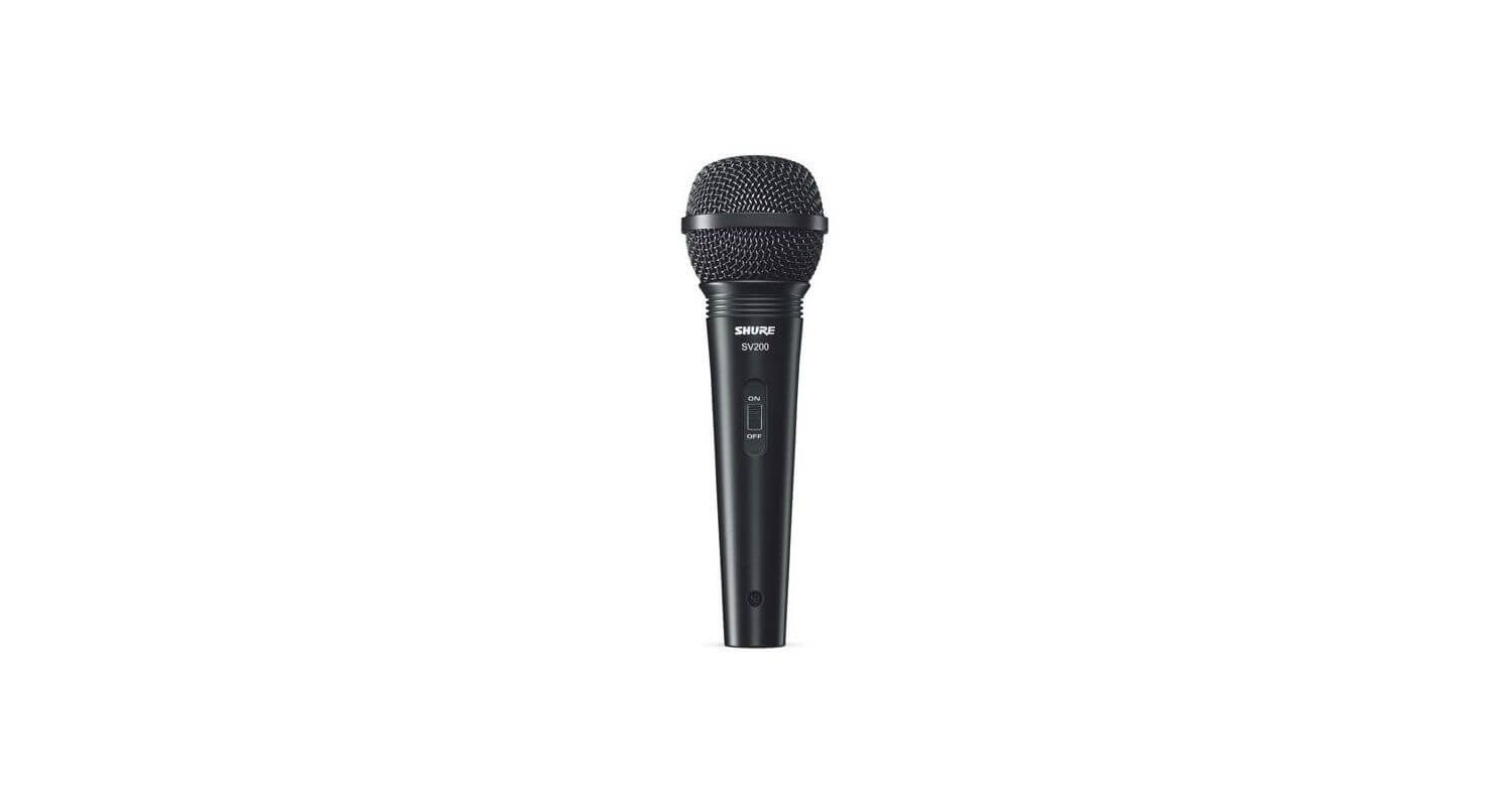 Microfono Vocal Shure Sv200