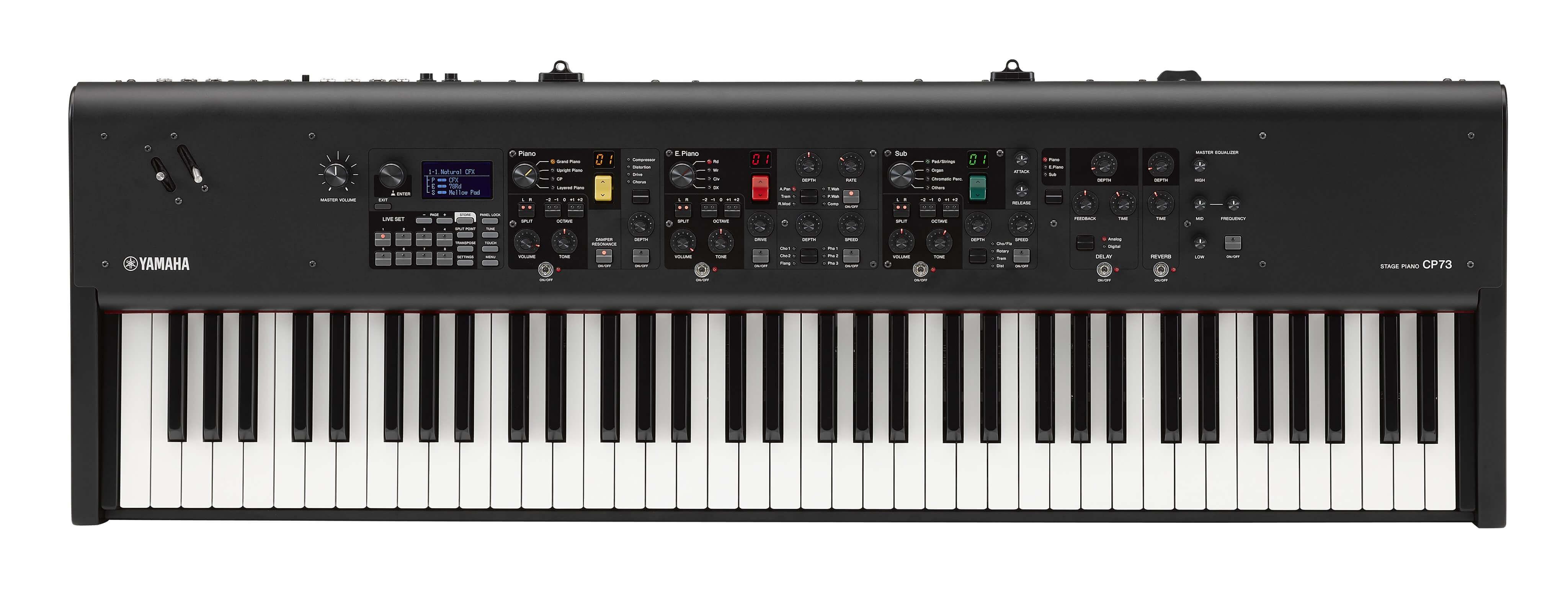Piano De Escenario Yamaha CP73