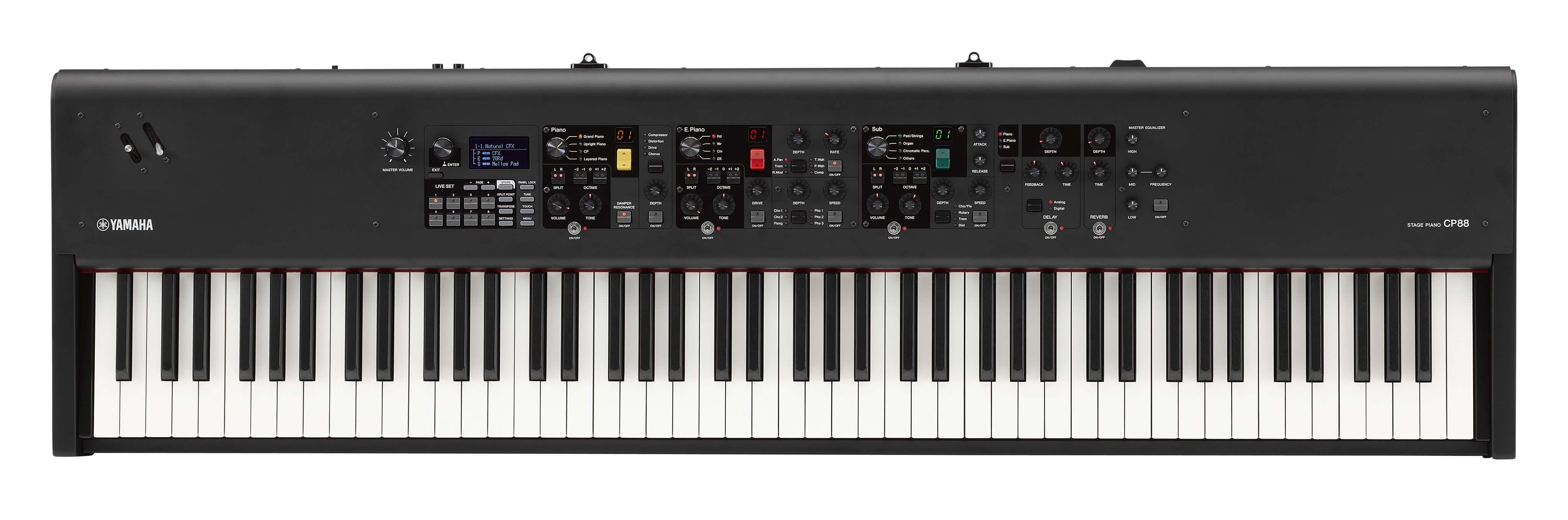 Piano De Escenario Yamaha CP88