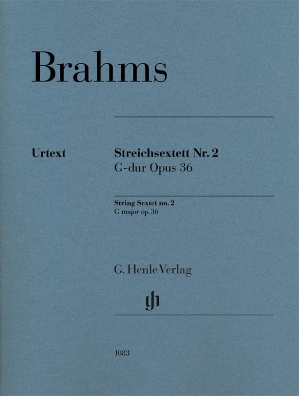 String Sextet no.2 in G major Op.36 Brahms