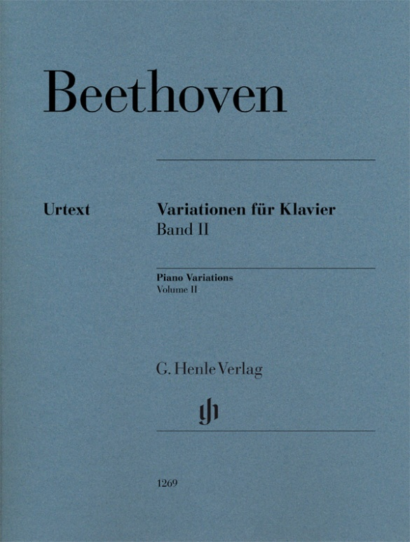 Variations for Piano, Volume II. Piano Beethoven
