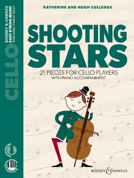 Shooting Stars violoncello + audio Online .New Edition
