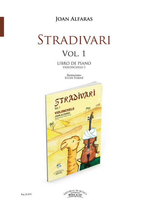 Stradivari Violonchelo 1 Acompañamiento piano