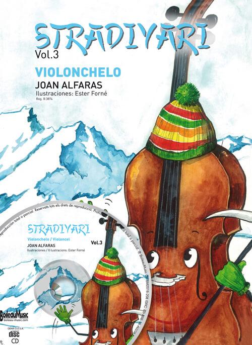 Stradivari violonchelo, Vol. 3 + Cd