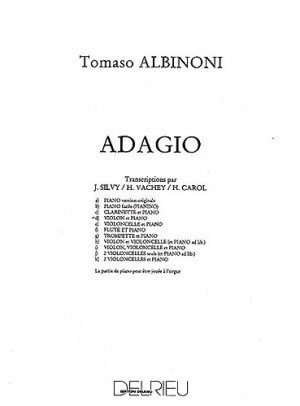 Adagio Albinoni for Flute