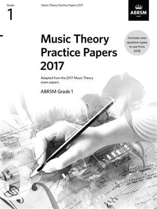 Music Theory Past Papers 2017, ABRSM Grade 1