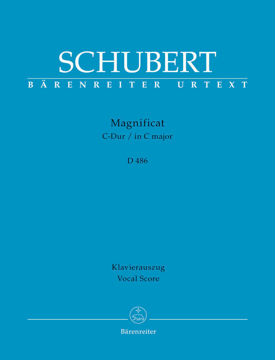 Magnificat C-Dur D 486 Schubert  vocal score