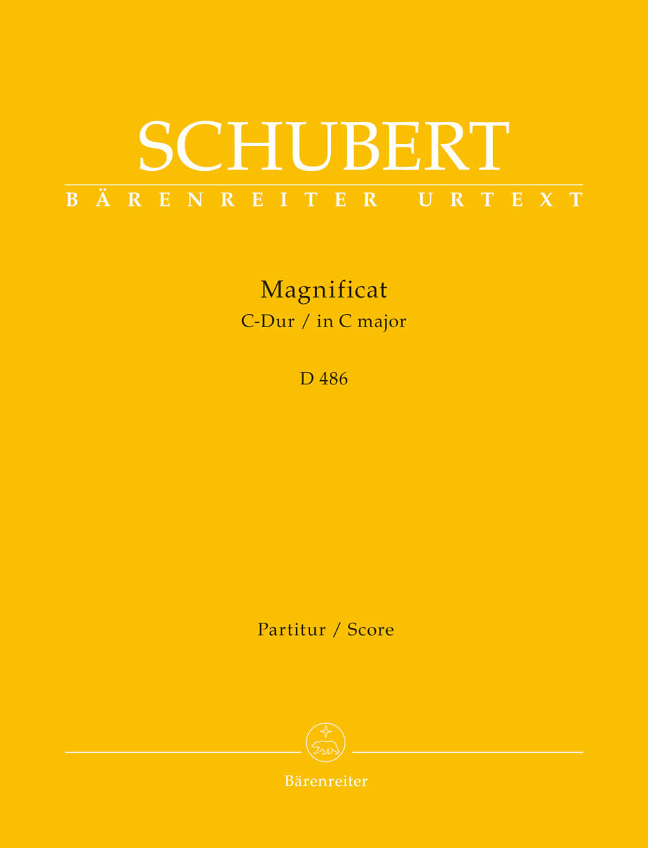 Magnificat C-Dur D 486 Schubert  full score