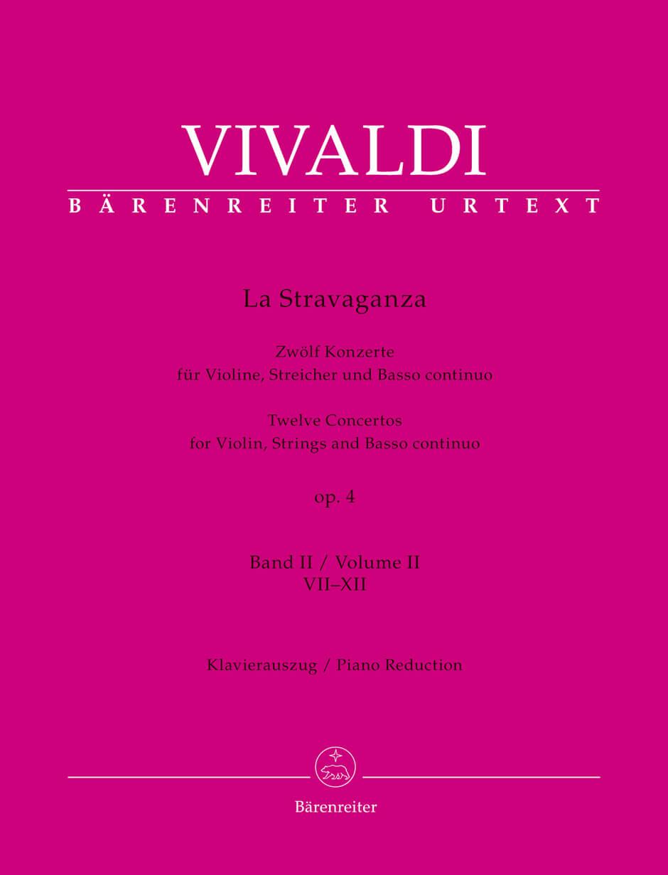 La Stravaganza op. 4 violin,piano band 2  . Vivaldi
